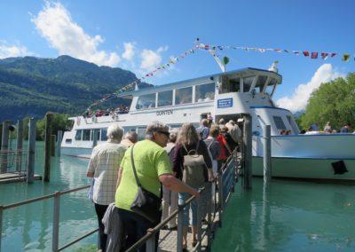SeniorInnen-Reise 2019 nach Quinten