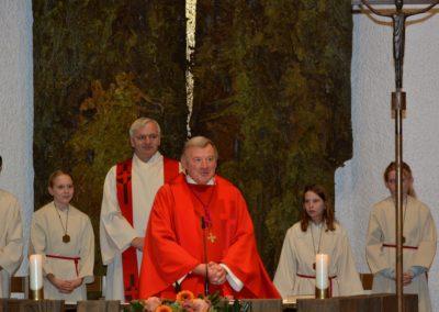 Pfarrer Stübi mit Gregor Domanski